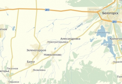 Водителям такси Феодосии и Керчи. Информация о закрытии дороги.